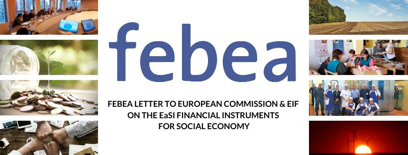 FEBEA  CALLS FOR INCREASED COLLABORATION WITH THE EU ON THE EASI FINANCIAL INSTRUMENTS