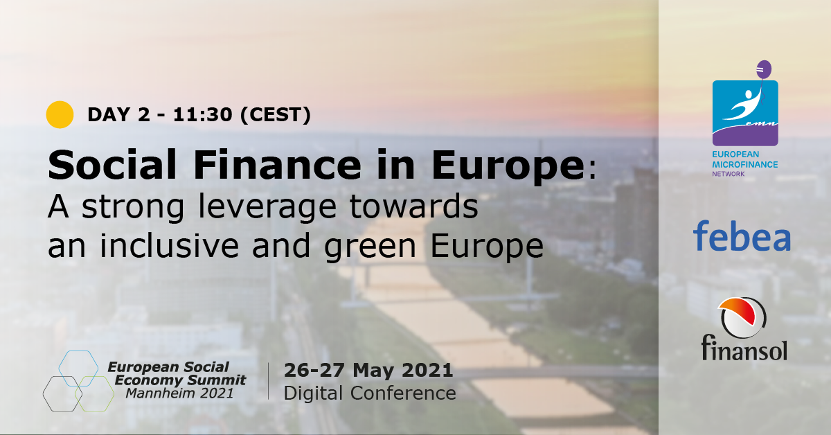 27.05.2021 – EUSES – SOCIAL FINANCE IN EUROPE: A STRONG LEVERAGE TOWARDS AN INCLUSIVE AND GREEN EUROPE