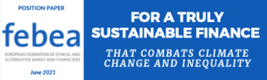 Read more about the article FEBEA POSITION PAPER ON THE EU SUSTAINABLE FINANCE STRATEGY