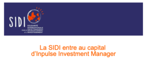 OUR MEMBERS SIDI, CREDIT COOPERATIF & INPULSE REINFORCE COLLABORATION AND INCREASE ETHICAL FINANCE OFFER