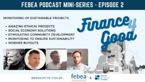 Read more about the article FINANCE4GOOD PODCAST – LISTEN TO THE 2nd EPISODE!