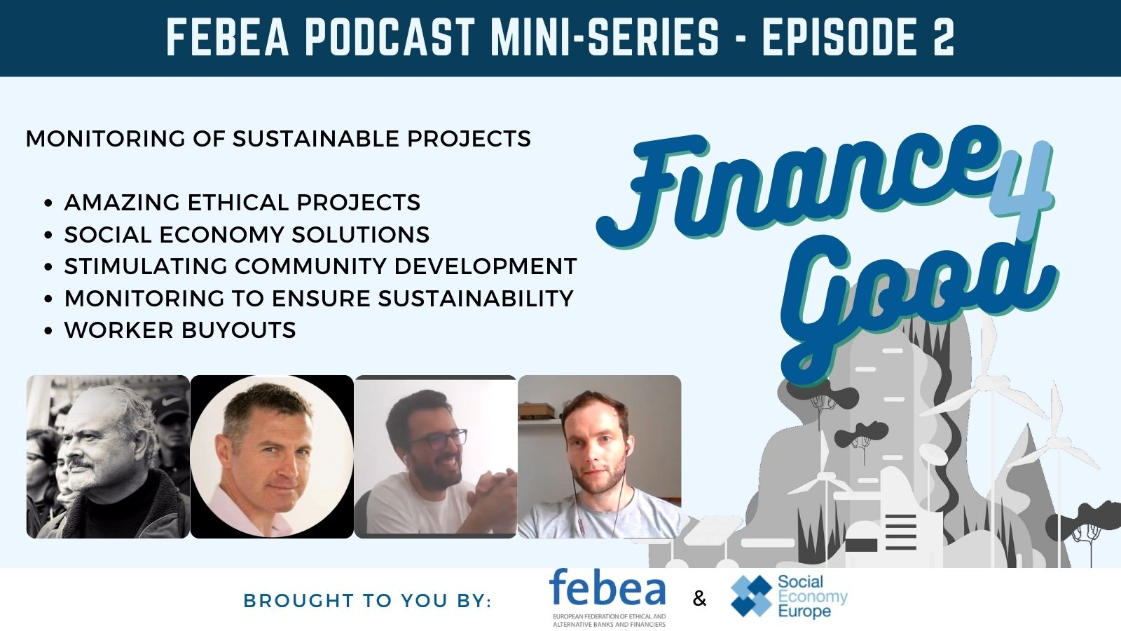 You are currently viewing FINANCE4GOOD PODCAST – LISTEN TO THE 2nd EPISODE!