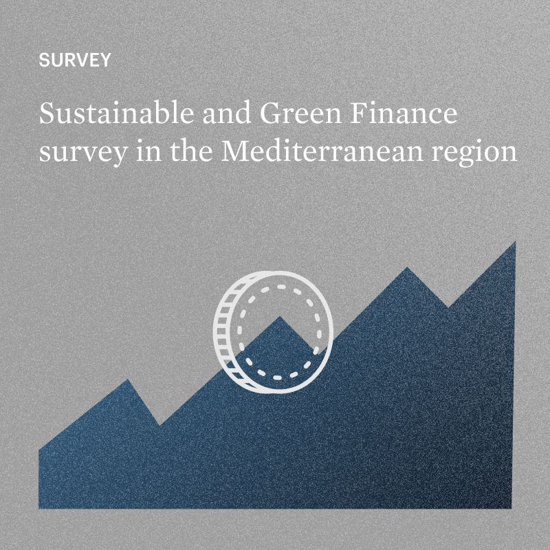 You are currently viewing SURVEY ON GREEN & SUSTAINABLE FINANCE IN THE MEDITERRANEAN REGION